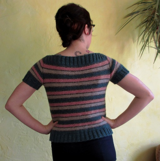 1st sweater (back)